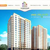 Сайт жилого комплекса Академичный