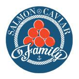 Фирменный стиль для компании Salmon Caviar Family
